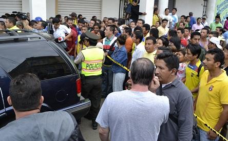 Conmoción por el asesinato del fiscal Ramón Loor