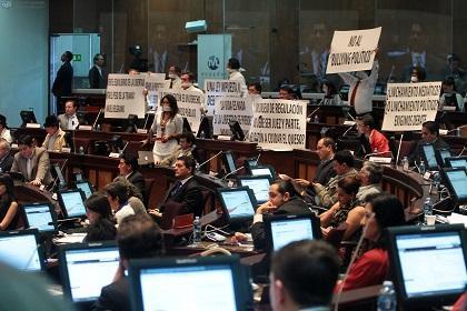 La Ley de Comunicación 'protege la corrupción', asegura presidente de la UNP