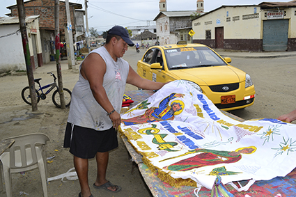 Limpian Picoazá por San Pedro y San Pablo
