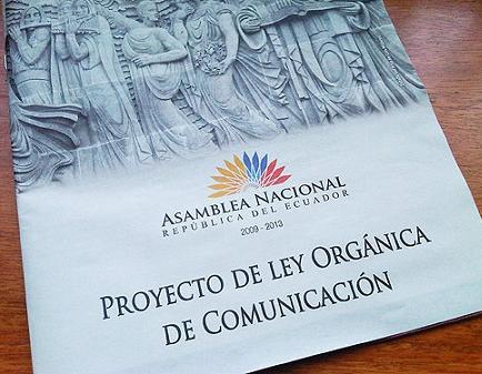 La CIDH pide al Gobierno ecuatoriano cambiar la Ley de Comunicación para que no afecte libertad de expresión