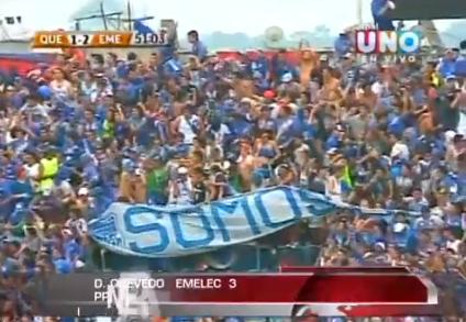 Emelec gana 3 - 1 a Deportivo Quevedo