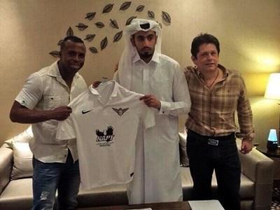 Chucho Benítez se integra a su nuevo club en Qatar