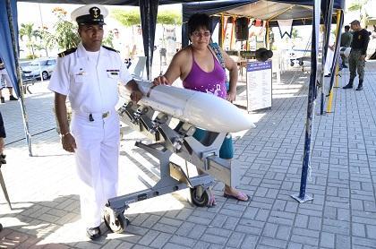 Combate Naval de Jambelí realiza actividades por aniversario
