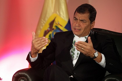 Muerte del 'Chucho' Benítez es 'una tragedia' para Ecuador, dice Correa
