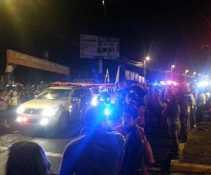 El cadáver del 'Chucho' Benítez no entró a la sede de El Nacional