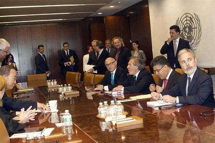 Los cancilleres del Mercosur denuncian ante el espionaje de EE.UU.