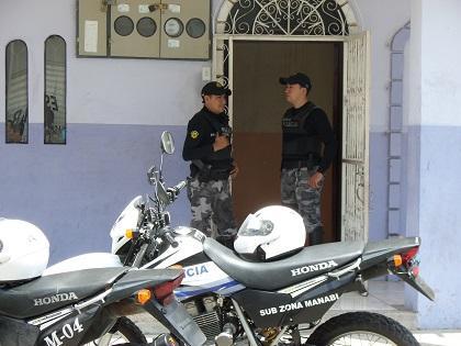 Se hallaron armas en operativo donde se decomisó 124 kilos de cocaína