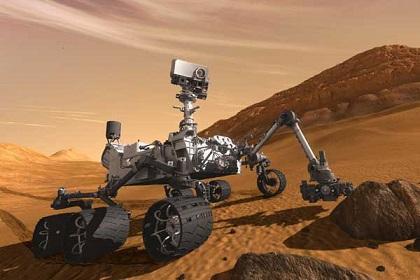 El robot Curiosity cumple un año de exploración en Marte