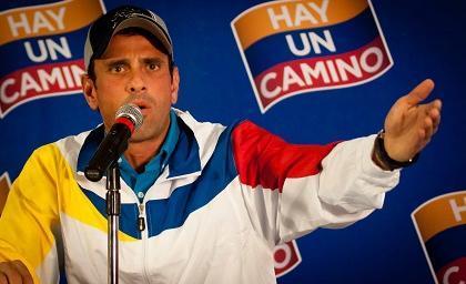 Capriles irá a organismos internacionales para reclamar por impugnación