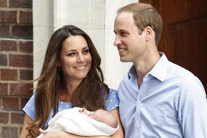 Príncipe Guillermo  está en 'modo bebé'