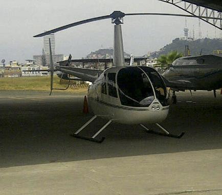 Esta semana llegará helicóptero del Gobierno Provincial de Manabí