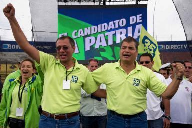 AP descarta que Rafael Correa busque la reelección