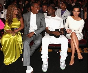 Beyoncé le da consejos de maternidad a Kim Kardashian