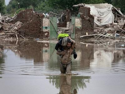 Inundaciones en Pakistán deja 84 personas muertas