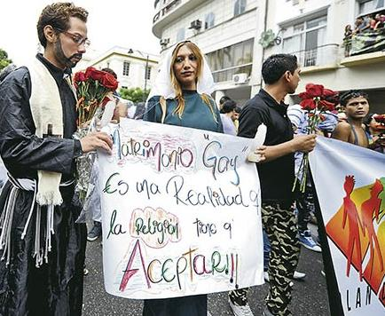 Grupos GLBTI siguen en lucha por el matrimonio