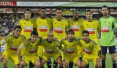 El Anzhi de Rusia pone a la venta a todo el equipo