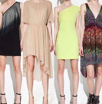 Vestidos con cortes asimétricos: ¡última tendencia!