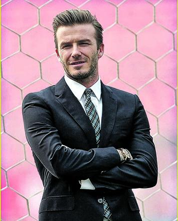 Beckham haría de villano en un film