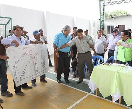 Obras conjuntas con Santo Domingo