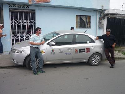 Dos productores ecuatorianos emprenden viaje contra la piratería