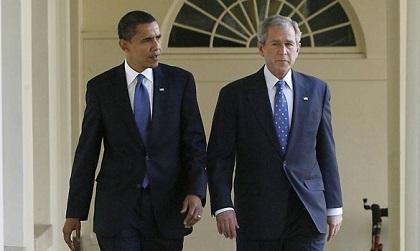 Obama llamó a Bush para desearle pronta recuperación tras operación cardíaca