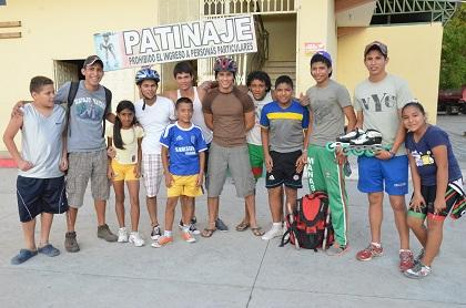 Deportistas manabitas participan en Campeonato Nacional de Patinaje