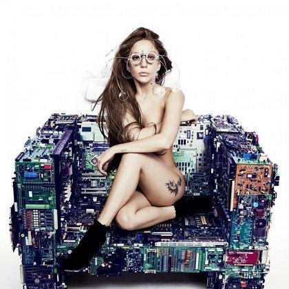 Lady Gaga se desnuda para el proyecto artístico de Marina Abramovic