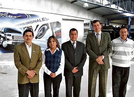 Ford Quito Motors inaugura un taller de post venta