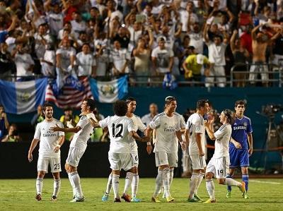 El Real Madrid venció 3-1 al Chelsea de Mourinho