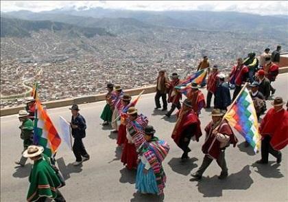 Indígenas ecuatorianos recordarán su día con 'lucha, resistencia' y diálogo
