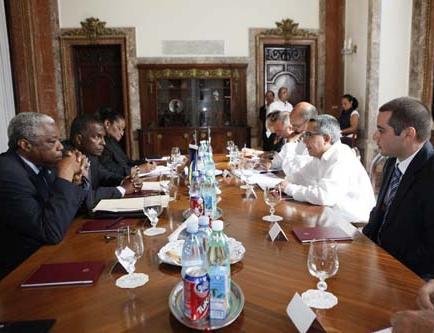 Cuba y Bahamas revisan agenda bilateral