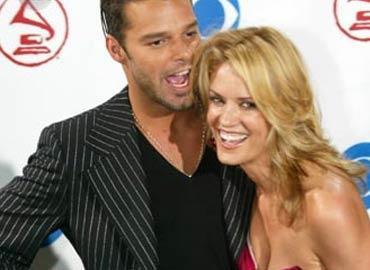 Exnovia de Ricky Martin aún le guarda rencor