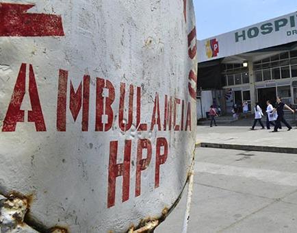 2 ambulancias esperan repuestos de frenos que vienen desde Alemania