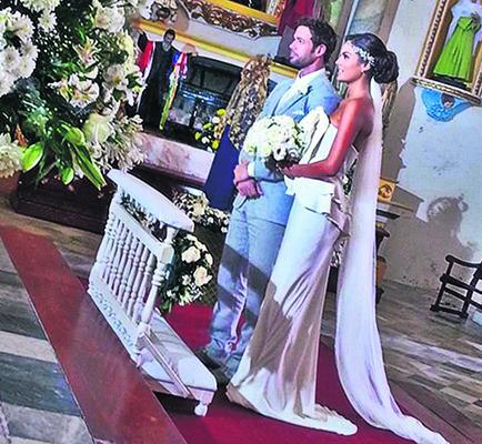 Conflicto en la boda de novela 'La Tempestad'
