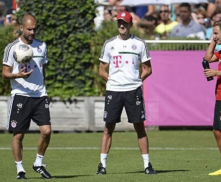 Josep Guardiola empieza nueva era con el Bayern Múnich de Alemania