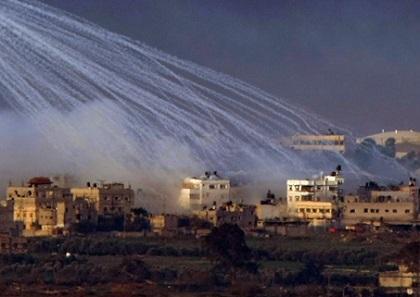 Israel bombardeó en zona fronteriza de Gaza y Egipto