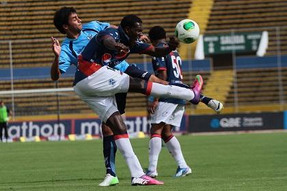 D.Quito es líder al vencer 2 - 0 a la U.Católica