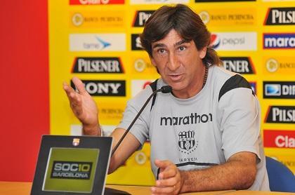 Gustavo Costas se despide de Barcelona