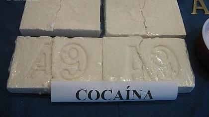 Detienen con 5 kilos de cocaína a irlandesa dada por desaparecida