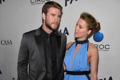 A Liam Hemsworth le incomodó hacer escenas de sexo con Amber Heard