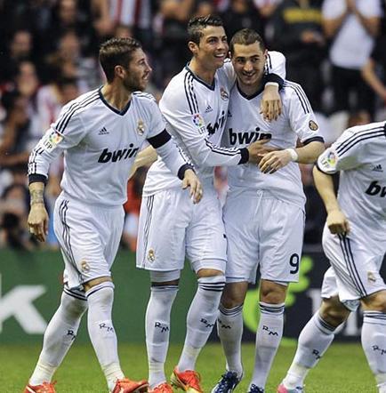 El Real Madrid golea al Inter en la pretemporada