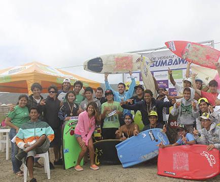 Murciélago Surf prepara el tercer circuito Sumbawa 2013