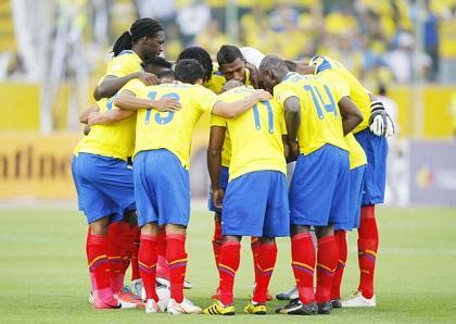 Ecuador arranca entrenamientos de cara al amistoso contra España