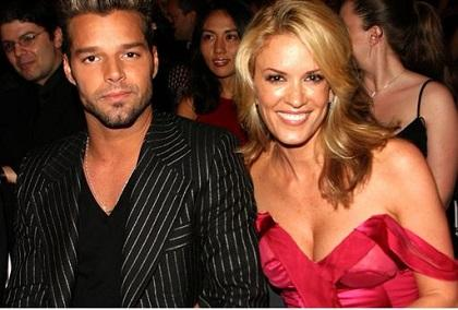 Ricky Martin se queda en silencio tras las críticas de Rebecca de Alba