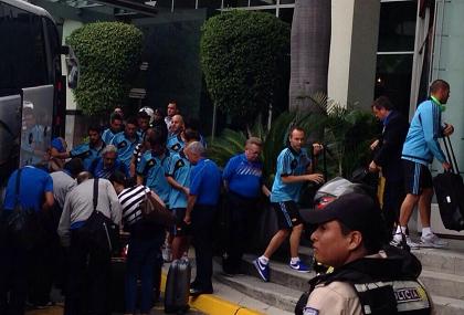 Selección de España llegó a Guayaquil