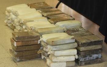 Decomisan 963 kilos de cocaína en barco costarricense cerca a Islas Galápagos