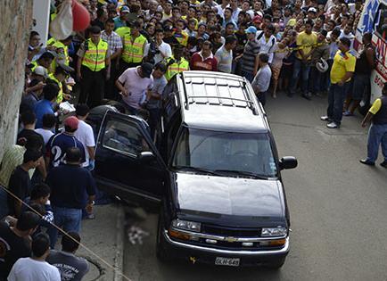 Detienen a otro sospechoso del asesinato del fiscal Loor, dice ministro