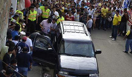 Ministro Serrano anuncia la detención de otro sospechoso del asesinato del fiscal Loor