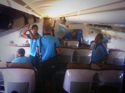 La Selección de España llega hoy a Ecuador