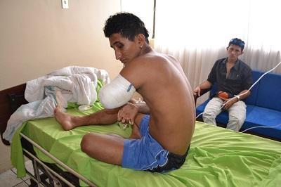 Pierde su brazo izquierdo tras accidentarse en una moto